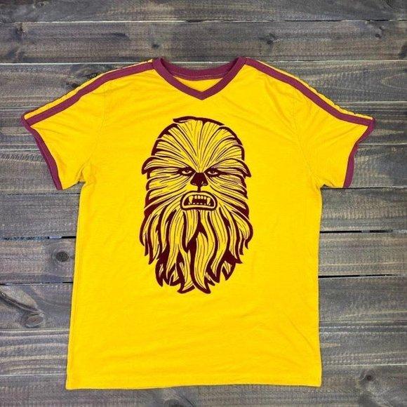 Star Wars Ringer 70s Style Men's Medium T-Shirt